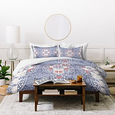 Deny Designs Holli Zollinger French Linen Zali Queen Duvet Set