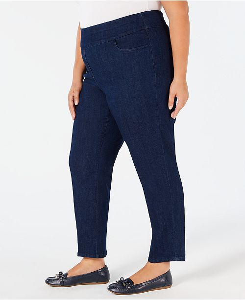 6fefe91a48a77 Alfred Dunner Plus Size Greenwich Hills Pull-On Pants   Reviews ...