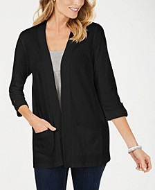 Petite Cotton Cardigan, Created for Macy's