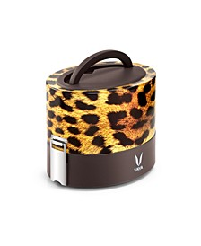 Vaya Tyffyn 600 Cheetah Lunch Box without bagmat - 20 oz