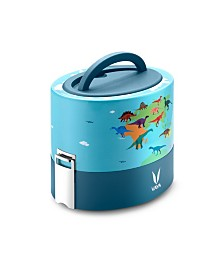 Vaya Tyffyn 600 Dino Map Lunch Box without Bagmat - 20 oz