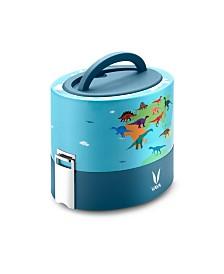 Vaya Tyffyn 600 Dino Map Lunch Box without Bagmat - 20 oz