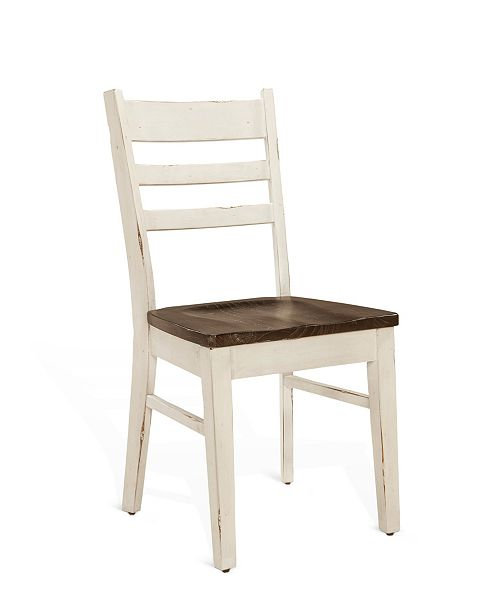 Sunny Designs Carriage House European Cottage Ladderback Chair