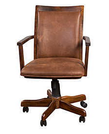 Santa Fe Dark Chocolate Office Chair