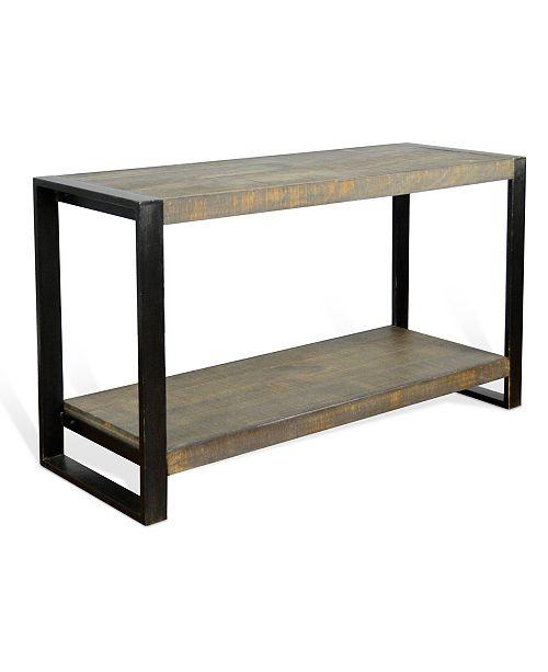 Sunny Designs Durham Tobacco Leaf Sofa/Console Table