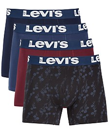 Levi's® Men's 4-Pk. Stretch Boxer Briefs