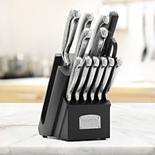 Hampton Forge Argentum Hammered 14-Pc. Cutlery Set