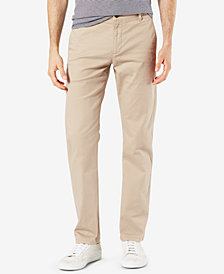 Dockers Men's Original Slim-Fit Performance Stretch Temperature-Regulating Khaki Tech Pants