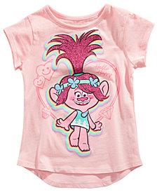 Trolls by DreamWorks Little Girls Poppy T-Shirt