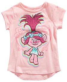 Trolls by DreamWorks Little Girls Poppy T-Shirt