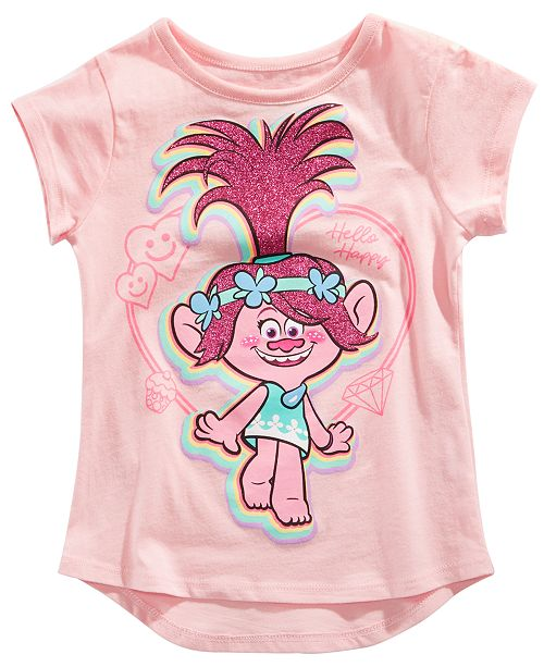 4f0f645ec Trolls by DreamWorks Toddler Girls Poppy T-Shirt   Reviews - Shirts ...