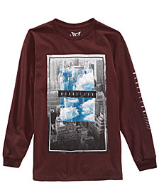Univibe Big Boys Empire Island T-Shirt