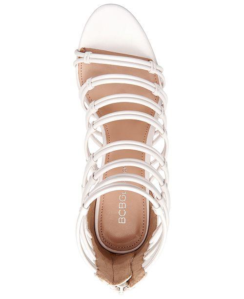 e7ce13a1a41 BCBGeneration Maria Caged Dress Sandals   Reviews - Sandals   Flip ...