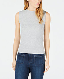 Maison Jules Ribbed Tank Top, Created for Macy's