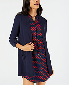 Maison Jules Long Swing Cardigan, Created for Macy's