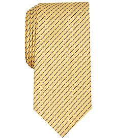 Nautica Men's Agnes Slim Grid Silk Tie