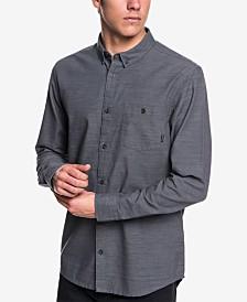 Quiksilver Men's Minoo Valley Modern-Fit Stripe Shirt