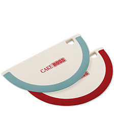 Cake Boss 2-Pc. Silicone Bowl Scrapers