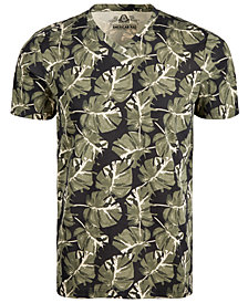 American Rag Men's Watercolor Palm T-Shirt, Created for Macy's