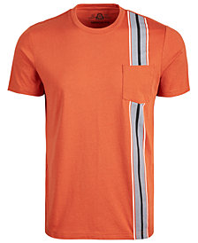American Rag Men's Racing-Stripe Pocket T-Shirt, Created for Macy's