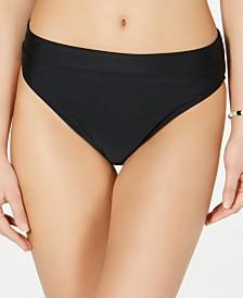 Hula Honey Juniors' High-Leg Bikini Bottoms, Created for Macy's