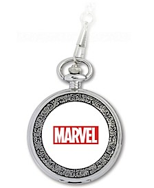 Marvel Spider-Man Men's Silver Alloy Pocket Watch