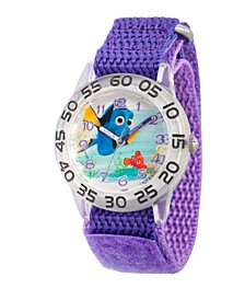 Disney Finding Dory Nemo and Dory Girls' Plastic Time Teacher Watch