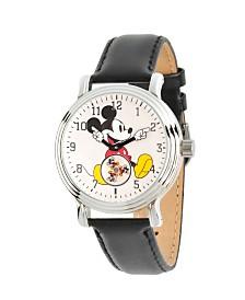 Disney Mickey Mouse Women's Silver Vintage Alloy Watch