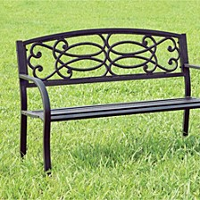 Armrests Patio Bench
