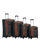 904dbdfdba Rockland 4-Piece Impact Spinner Luggage Set