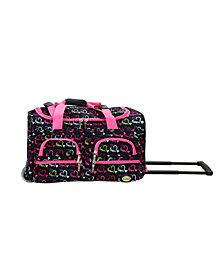 "Rockland 22"" Rolling Duffle Bag"