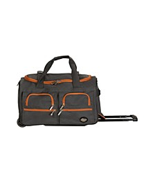 """22"""" Carry-On Rolling Duffle Bag"""