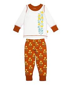 Masala Baby Keya Baby Organic Cotton Pajamas