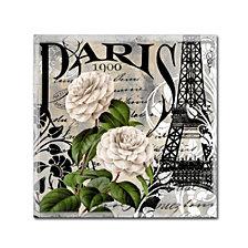 Color Bakery 'Paris Blanc Ii' Canvas Art