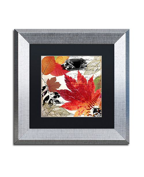 "Trademark Global Color Bakery 'Equinox I' Matted Framed Art, 11"" x 11"""