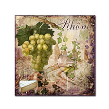 Color Bakery 'Wine Country Vi' Canvas Art