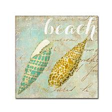 Color Bakery 'Turquoise Beach Ii' Canvas Art