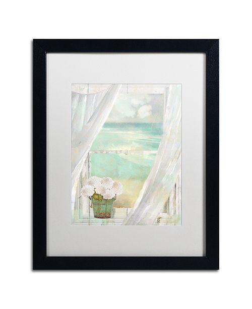 "Trademark Global Color Bakery 'Summer Me Ii' Matted Framed Art, 16"" x 20"""