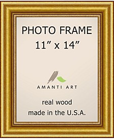 """Townhouse Gold 11"""" X 14"""" Opening Wall Picture Photo Frame"""