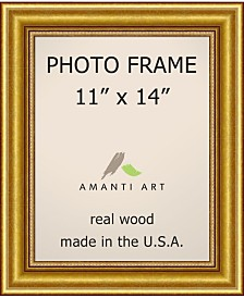 "Amanti Art Townhouse Gold 11"" X 14"" Opening Wall Picture Photo Frame"