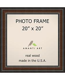 "Amanti Art Cyprus Walnut 20"" X 20"" Opening Wall Picture Photo Frame"