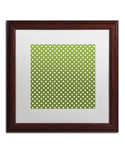 """Trademark Global Color Bakery 'Sweet Holiday Vi' Matted Framed Art, 16"""" x 16"""""""