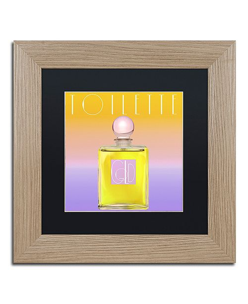 "Trademark Global Color Bakery 'Colored Scents Ii' Matted Framed Art, 11"" x 11"""