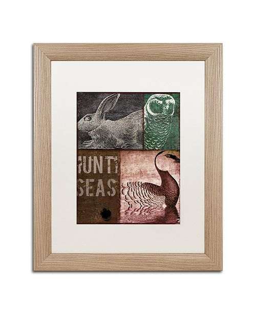 "Trademark Global Color Bakery 'Cabela Iv' Matted Framed Art, 16"" x 20"""