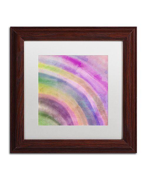 "Trademark Global Color Bakery 'Hot' Matted Framed Art, 11"" x 11"""
