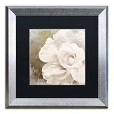 "Color Bakery 'Petals Impasto Ii' Matted Framed Art, 16"" x 16"""