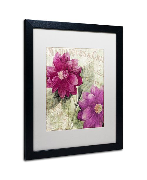 "Trademark Global Color Bakery 'September' Matted Framed Art, 16"" x 20"""