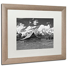 Michael Blanchette Photography 'Thomas Moulton Barn' Matted Framed Art