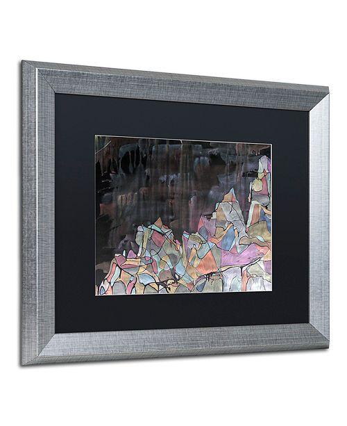 """Trademark Global Lauren Moss 'Galdhopiggen' Matted Framed Art, 16"""" x 20"""""""