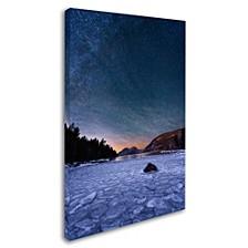 "Michael Blanchette Photography 'Stars On Ice' Canvas Art, 12"" x 19"""